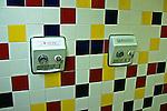 Han dryers in a mens toilet