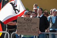 2014/06/04 Berlin | NPD gegen Flüchtlingsheim