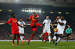 Georgina Wijnaldum of Liverpool fires in a shot during the Premier League match at the Anfield Stadium, Liverpool. Picture date: November 26th, 2016. Pic Simon Bellis/Sportimage