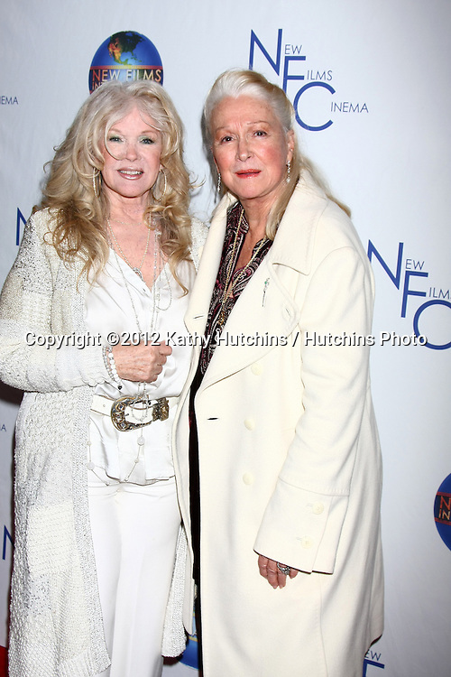 LOS ANGELES - DEC 13:  Connie Stevens, Diane Ladd arrives to the 'Saving Grace B. Jones' Premiere at ICM Screening Room on December 13, 2012 in Century CIty, CA