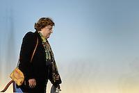 Roma, 17 Dicembre 2013<br /> Palazzo Chigi<br /> Conferenza stampa al termine del Consiglio dei Ministri.<br /> Approvato decreto legge su carceri e Giustizia.<br /> Nella foto Anna Maria Cancellieri