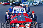 Launching the Irish Ford Fair in Kerry Motor Work on Tuesday.  L-r, Kieran Griffin, Brendan Shanahan, John Brown, Ray Stack and Steven Benner