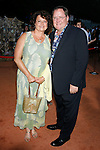 Nancy Lasseter and John Lasseter arrive at the Disney-Pixar's WALL-E Premiere on June 21, 2008 at Greek Theatre in Los Angeles, California.