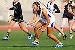 Torrance, CA 05/09/13 - Kelsie Garrison (Agoura #23) in action during the 2013 Los Angeles area Girls Varsity Lacrosse Championship.  Agoura defeated Oak Park 13-7.