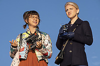 Annaleigh Ashford &amp; Charlyne Yi<br /> Second Act (2018) <br /> *Filmstill - Editorial Use Only*<br /> CAP/RFS<br /> Image supplied by Capital Pictures