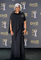 LOS ANGELES, CA. March 30, 2019: Donna Brazile at the 50th NAACP Image Awards.<br /> Picture: Paul Smith/Featureflash