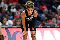 Washington, DC - August 25, 2019: New York Liberty guard Bria Hartley (14) during second half action of game between the New York Liberty and the Washington Mystics at the Entertainment and Sports Arena in Washington, DC. The Mystics defeated New York 101-72. (Photo by Phil Peters/Media Images International)