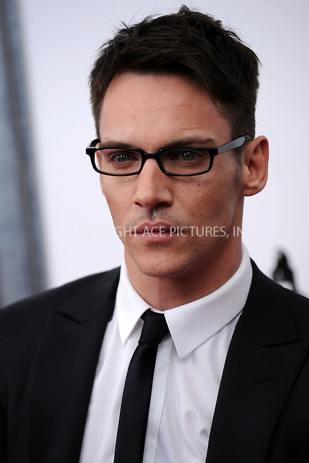 WWW.ACEPIXS.COM . . . . . ....January 28 2010, New York City....Actor Jonathan Rhys Meyers arriving at the 'From Paris With Love' premiere at the Ziegfeld Theatre on January 28, 2010 in New York City. ....Please byline: KRISTIN CALLAHAN - ACEPIXS.COM.. . . . . . ..Ace Pictures, Inc:  ..(212) 243-8787 or (646) 679 0430..e-mail: picturedesk@acepixs.com..web: http://www.acepixs.com