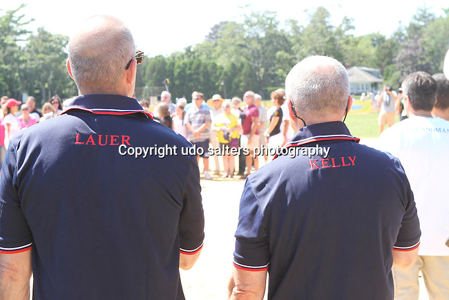 65th Annual Artists vs Writers Celebrity Softball Game to benefit East End Hospice, East ampton Day Care Learning Center, Phoenix House Adolescent Center in Wainscott and The Retreat, East Hampton NY