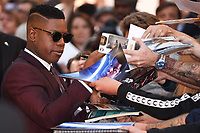 John Boyega<br /> attending the premiere of &quot;Detroit&quot; at the Curzon Mayfair, London. <br /> <br /> <br /> &copy;Ash Knotek  D3294  10/08/2017