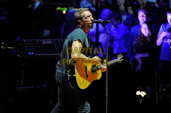 LONDON, ENGLAND - July 1: Chris Martin of 'Coldplay' performing at Royal Albert Hall on July 1, 2014 in London, England.<br /> CAP/MAR<br /> &copy; Martin Harris/Capital Pictures