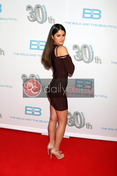"Danube Hermosillo<br /> at the ""The Bold and The Beautiful"" 30th Anniversary Party, Clifton's Downtown, Los Angeles, CA 03-18-17<br /> David Edwards/DailyCeleb.com 818-249-4998"