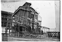 Sesto San Giovanni (Milano), ex area industriale delle acciaierie Falck. Doppia esposizione --- Sesto San Giovanni (Milan), former industrial site of Falck steelworks. Double exposure