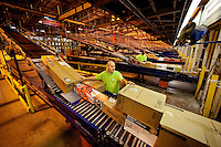 Warehouse operations in a regional distribution center (DC) of home improvement retailer Lowe's Cos Inc.