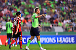 Jeonbuk Hyundai Motors (KOR) vs FC Seoul (KOR) during their AFC Champions League Semi Final match on Wednesday, 28 September  2016, held at  Jeonju World Cup Stadium in Jeonju, South Korea. Photo by Marcio Machado / Power Sport Images