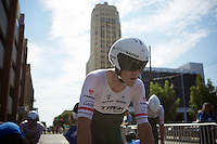 Markel Irizar (ESP/Trek Factory Racing) rolling in after the TTT<br /> <br /> Elite Men&rsquo;s Team Time Trial<br /> UCI Road World Championships Richmond 2015 / USA