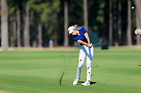 Sierra Brooks (USA) on the 1st during the second round of the Augusta National Womans Amateur 2019, Champions Retreat, Augusta, Georgia, USA. 04/04/2019.<br /> Picture Fran Caffrey / Golffile.ie<br /> <br /> All photo usage must carry mandatory copyright credit (&copy; Golffile | Fran Caffrey)