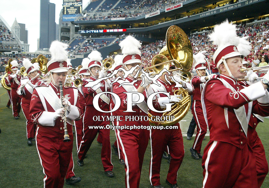 September 17, 2005:   Washington State University band and dance team members entertained the crowd during half time. Washington State University won 48-7 over Grambling State  at Quest Field in Seattle, WA