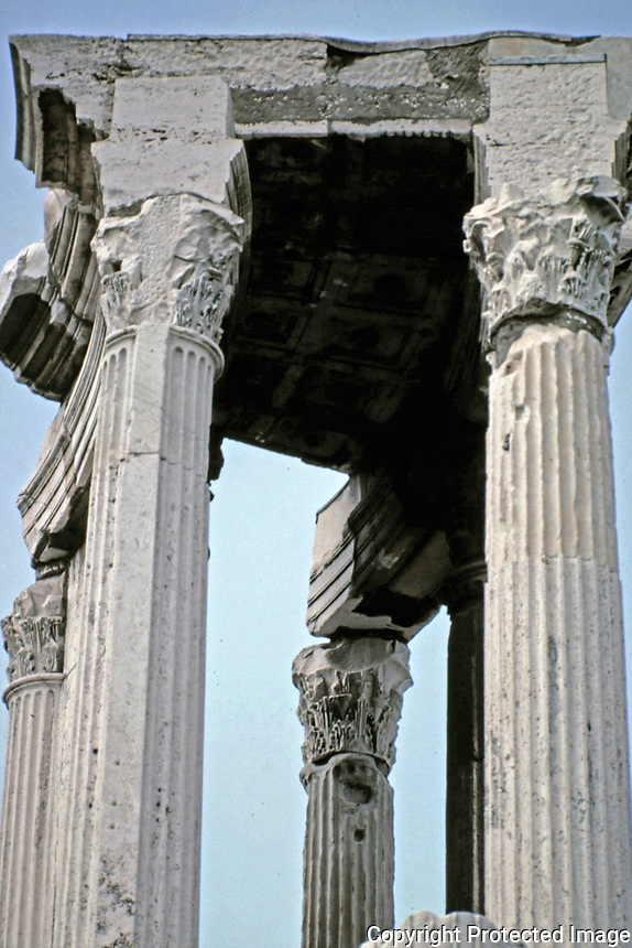 Temple of Castor and Pollux, Rome Italy, 495 BCE