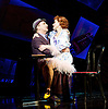 Guys and Dolls<br /> by Damon Runyon / Frank Loesser<br /> at The Savoy Theatre, London, Great Britain <br /> press photocall<br /> 4th January 2016 <br /> <br /> David Haig as Nathan Detroit <br /> Sophie Thompson as Adelaide <br /> <br /> Photograph by Elliott Franks <br /> Image licensed to Elliott Franks Photography Services