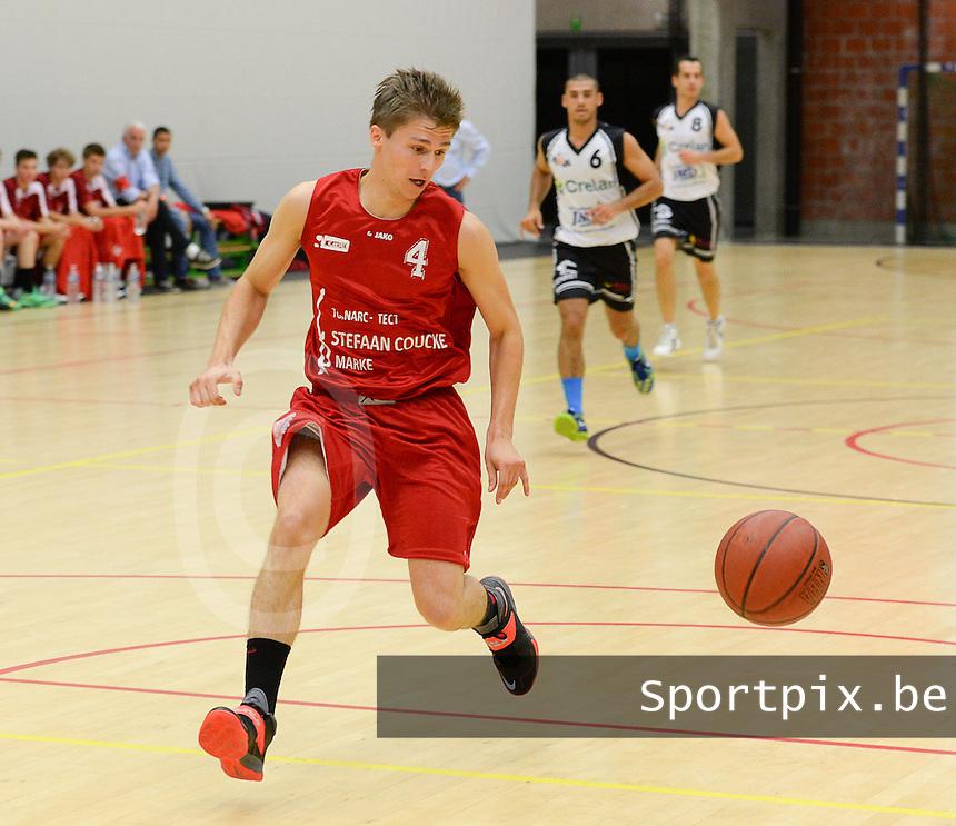 Kortrijk Sport CB : Mathieu Bergen <br /> foto VDB / BART VANDENBROUCKE