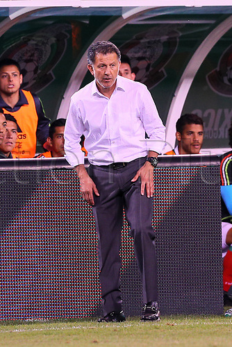 June 1st 2017, East Rutherford, NJ, USA; Mexico head coach Carlos Osorio during the game between Mexico and the Republic of Ireland on June 01, 2017 at Met Life Stadium in East Rutherford, NJ.
