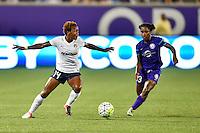 Orlando, FL - Friday Aug. 26, 2016:   during a regular season National Women's Soccer League (NWSL) match between the Orlando Pride and the Washington Spirit at Camping World Stadium.