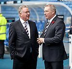 Rangers Chairman David Somers with manager Ally McCoist