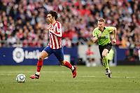 7th March 2020; Wanda Metropolitano Stadium, Madrid, Spain; La Liga Football, Atletico de Madrid versus Sevilla; Joao Felix (Atletico de Madrid)  breaks forward on the ball