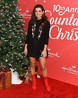 "20 November 2019 - Hollywood, California - Orly Shani. Hallmark Channel's 10th Anniversary Countdown to Christmas - ""Christmas Under the Stars"" Screening and Party. Photo Credit: Billy Bennight/AdMedia"