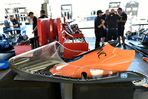 2018 Verizon IndyCar Series Phoenix testing<br /> Phoenix Raceway, Avondale, Arizona, USA<br /> Thursday 8 February 2018<br /> Scott Dixon, Chip Ganassi Racing Honda windscreen test<br /> World Copyright: Scott R LePage/LAT Images<br /> ref: Digital Image _SRL2810