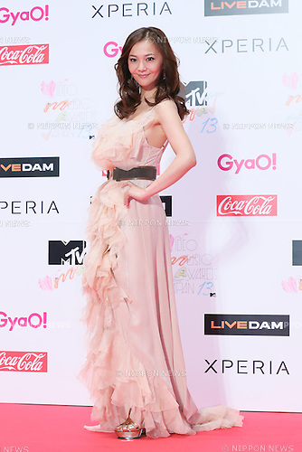Tomomi Kahara, Jun 22, 2013 : MTV VMAJ (VIDEO MUSIC AWARDS JAPAN) 2013 at Makuhari Messe in Chiba, Japan. (Photo by AFLO)