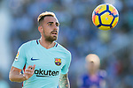 Francisco Alcacer Garcia, Paco Alcacer, of FC Barcelona in action during the La Liga 2017-18 match between CD Leganes vs FC Barcelona at Estadio Municipal Butarque on November 18 2017 in Leganes, Spain. Photo by Diego Gonzalez / Power Sport Images