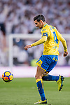 Jose Vicente Gomez Umpierrez of UD Las Palmas in action during the La Liga 2017-18 match between Real Madrid and UD Las Palmas at Estadio Santiago Bernabeu on November 05 2017 in Madrid, Spain. Photo by Diego Gonzalez / Power Sport Images