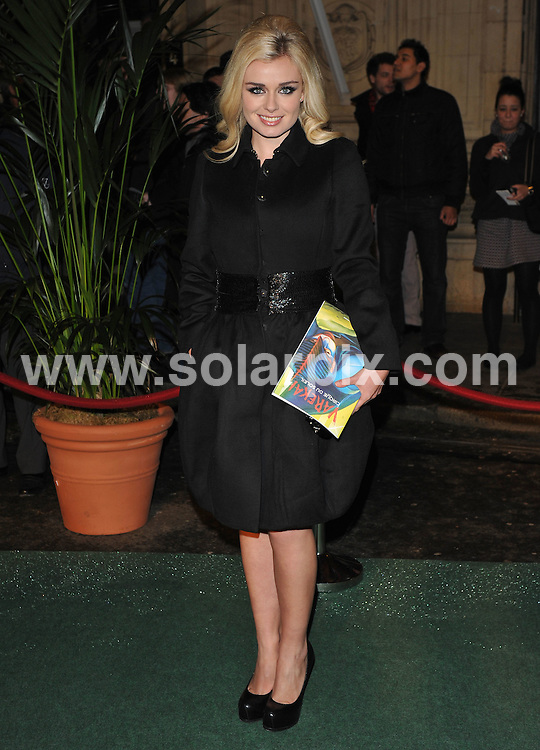 **ALL ROUND PICTURES FROM SOLARPIX.COM**.**WORLDWIDE SYNDICATION RIGHTS**.Outside arrivals at the London premiere of Cirque du Soleil - Varekai.  Held at the Royal Albert Hall, London.  5 January 2009..This pic: Katherine Jenkins..JOB REF: 10429 SSD     DATE: 05_01_2010.**MUST CREDIT SOLARPIX.COM OR DOUBLE FEE WILL BE CHARGED**.**MUST NOTIFY SOLARPIX OF ONLINE USAGE**.**CALL US ON: +34 952 811 768 or LOW RATE FROM UK 0844 617 7637**