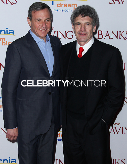 "BURBANK, CA - DECEMBER 09: Bob Iger, Alan Horn arriving at the U.S. Premiere Of Disney's ""Saving Mr. Banks"" held at Walt Disney Studios on December 9, 2013 in Burbank, California. (Photo by Xavier Collin/Celebrity Monitor)"