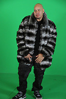 "BRONX, NEW YORK - DECEMBER 21....Fat Joe on the set of his ""Angels Sing"" video shoot at the True Sound Lounge in Bronx, New York on December 21, 2012....*EXCLUSIVE*....© Walik Goshorn / Retna Ltd. / Mediapunch Inc"
