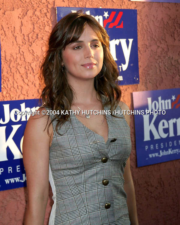 ©2004 KATHY HUTCHINS /HUTCHINS PHOTO.JOHN KERRY FUNDRAISER .HOSTED BY ALEX AND VANESSA KERRY.MUSIC BOX HENRY FORD THEATER.HOLLYWOOD, CA.JULY 6, 2004..ELIZA DUSHKU