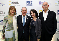 "LONDON, UK - DECEMBER 11: Patricia Harris, Michael Bloomberg, Katherine Oliver and Jon Kamen attend the London Premiere of Bloomberg and National Geographic's ""Paris to Pittsburgh"" at the BAFTA Theatre on December 11, 2018 in London, UK. (Photo by Vianney Le Caer/National Geographic/PictureGroup)"