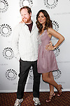 Joss Whedon and Eliza Dushku at the 'Dollhouse' PaleyFest09 event at the Arclight in Los Angeles, California on April 15, 2009..Photo by Nina Prommer/Milestone Photo
