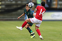 Manuela Giugliano of Italy and Shona Zammit of Malta compete for the ball<br /> Castel di Sangro 12-11-2019 Stadio Teofolo Patini <br /> Football UEFA Women's EURO 2021 <br /> Qualifying round - Group B <br /> Italy - Malta<br /> Photo Cesare Purini / Insidefoto