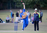 Ollie Peck of Upminster in action during Upminster CC vs Essex CCC, Benefit Match Cricket at Upminster Park on 8th September 2019