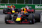 June 11th 2017, Circuit Gilles Villeneuve, Montreal Quebec, Canada; Formula One Grand Prix, Race Day. #33 Max Verstappen (NLD, Red Bull Racing)