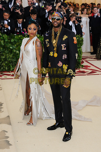 07 May 2018 - New York, New York - Kesha Ward, 2 Chainz. 2018 Metropolitan Museum of Art Costume Institute Gala: &quot;Heavenly Bodies: Fashion and the Catholic Imagination. <br /> CAP/ADM/CS<br /> &copy;CS/ADM/Capital Pictures