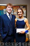Darragh O'Sullivan (Tralee) and Emma Ryan (Tralee),  attending the Mercy Mounthawk Debs at the Ballyroe Heights Hotel on Thursday night last.