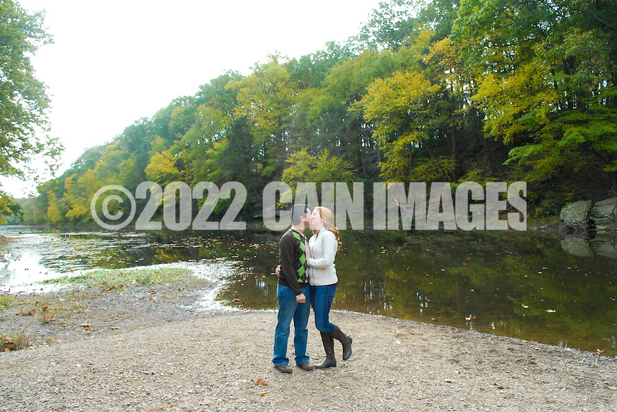 10/14/12 9:42:58 AM - Newtown, PA.. -- Amanda & Elliot October 14, 2012 in Newtown, Pennsylvania. -- (Photo by William Thomas Cain/Cain Images)