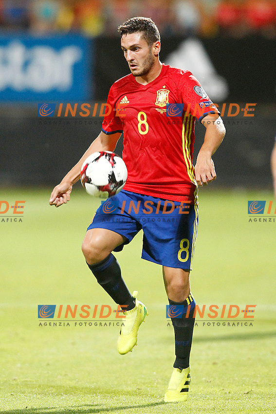 Spain's Koke Resurreccion during FIFA World Cup 2018 Qualifying Round match. September 5,2016.(ALTERPHOTOS/Acero)<br /> Spagna - Liechtenstein <br /> Foto Insidefoto <br /> ITALY ONLY