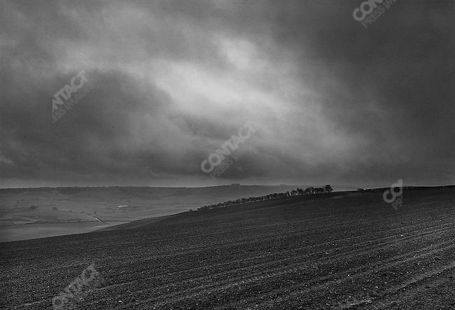 Storm over Dorset, UK, 1988