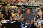 """Days Of Our Lives - Greg Vaughan,  Lauren Koslow, Wally Kurth, Melissa Reeves meet the fans as they sign """"Days Of Our Lives Better Living"""" on September 27, 2013 at Books-A-Million in Nashville, Tennessee. (Photo by Sue Coflin/Max Photos)"""