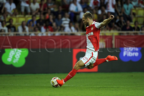03.08.2016. Monaco, France. UEFA Champions league qualifying round, AS Monaco versus Fenerbahce.  Goal scored by Germain (mon)
